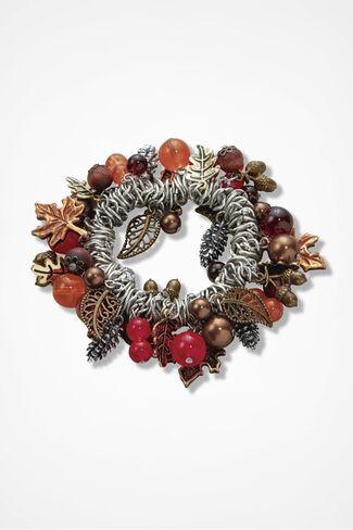 Autumn Mementos Stretch Bracelet, Silver Multi, large