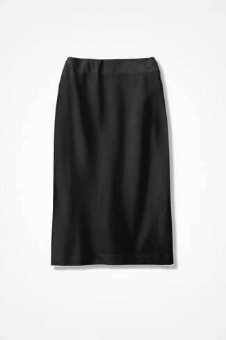 Ponte Perfect® Pencil Skirt, Black, large