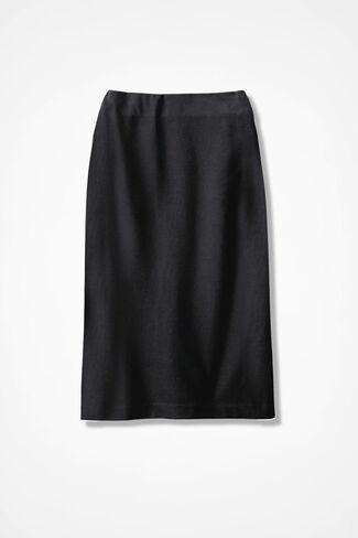 Ponte Perfect® Pencil Skirt, Black, large