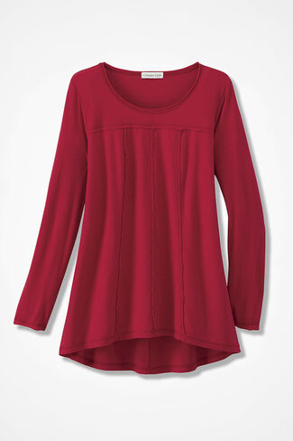 Seams to Be Me Tunic, Fresh Red, large