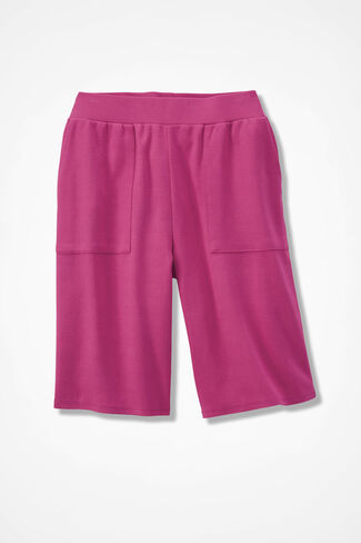 Essential Supima® Shorts, Bright Pink, large