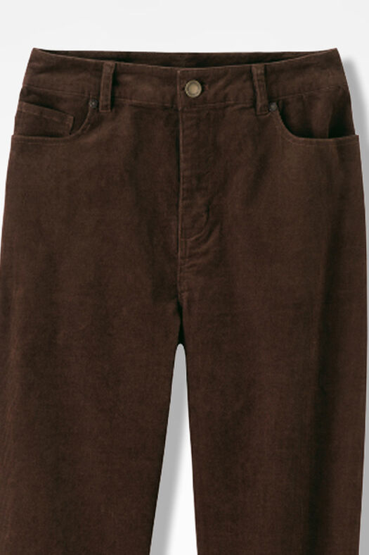 Pinwale Stretch Corduroys, Brown, large