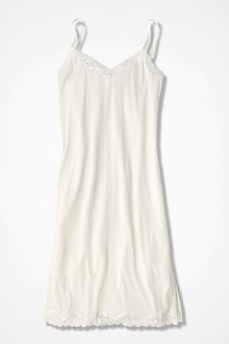 Stretch-Comfort Full Slip, Ivory, large