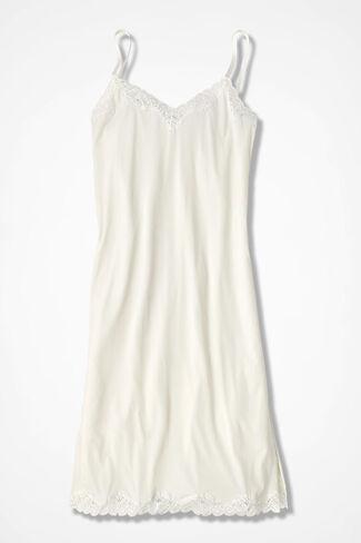 Stretch-Comfort Full Slip, Ivory, large