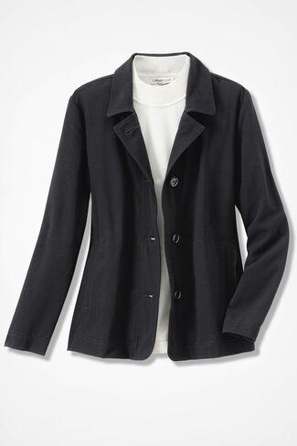 Go-To Bi-Stretch Jacket, Black, large
