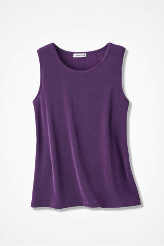 Destinations Solid Tank, Boysenberry, large