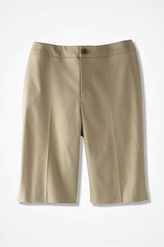 CottonLuxe® City Shorts, Dark Desert Khaki, large