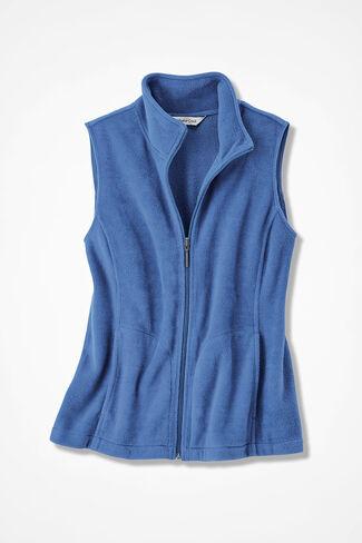 Great Outdoors Fleece Vest, Cobalt, large