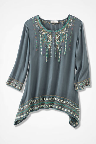 Topanga Canyon Embroidered Tunic