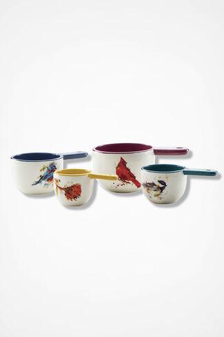 Dean Crouser Ceramic Measuring Cups, Multi, large