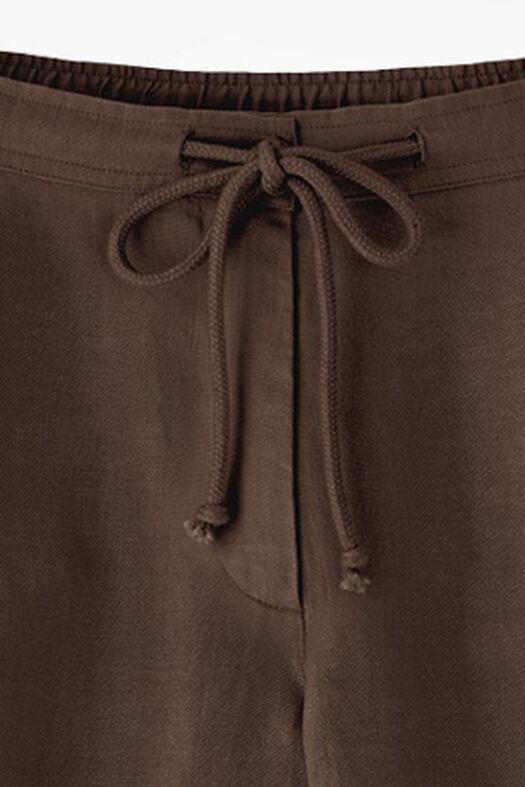 Solstice Linen Shorts, Brown, large