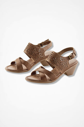 """Faith"" Sandals by Comfortiva®, Sand, large"
