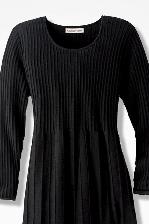AM/PM Sweater Dress, Black, large
