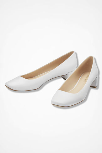 """Olencia"" Pumps by Nine West®, White, large"