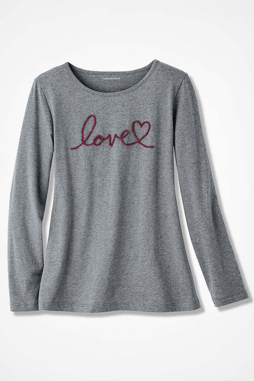 Loveu0027s The Message Tee
