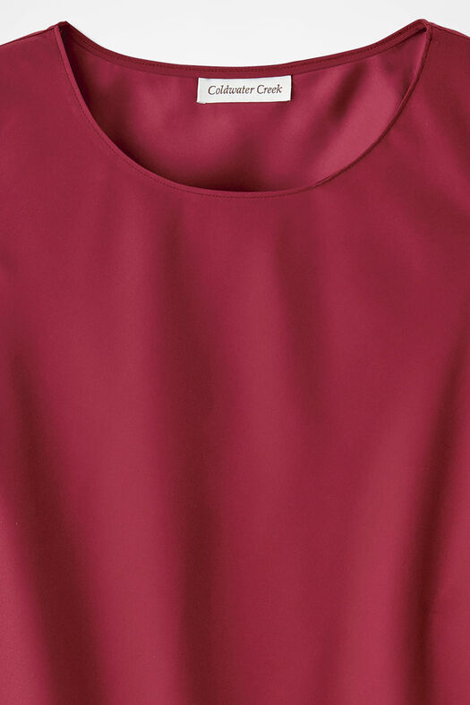 Do-It- All Sleeveless Shell, Dover Red, large
