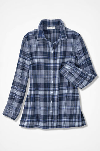 Northcountry Flannel Shirt, India Ink, large