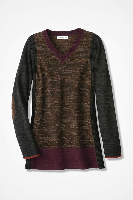 Media Mix Sweater, Multi, large