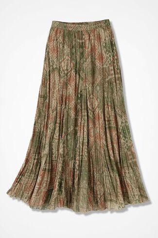 fa47aa91c0b Ponderosa Crinkle Maxi Skirt