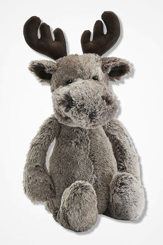 """Marty Moose"" by Jellycat®, Grey, large"