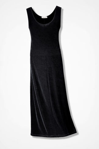 Destinations Tank Dress, Black, large