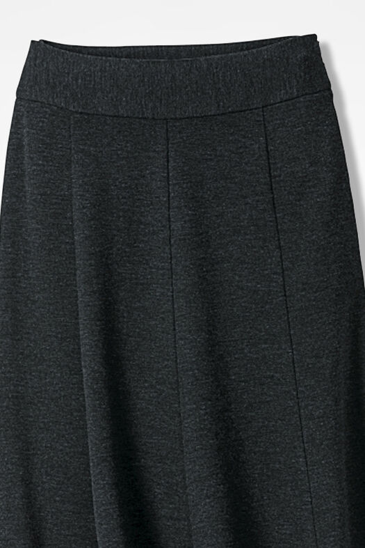 Ponte Perfect® Boot Skirt, Caviar Charcoal, large