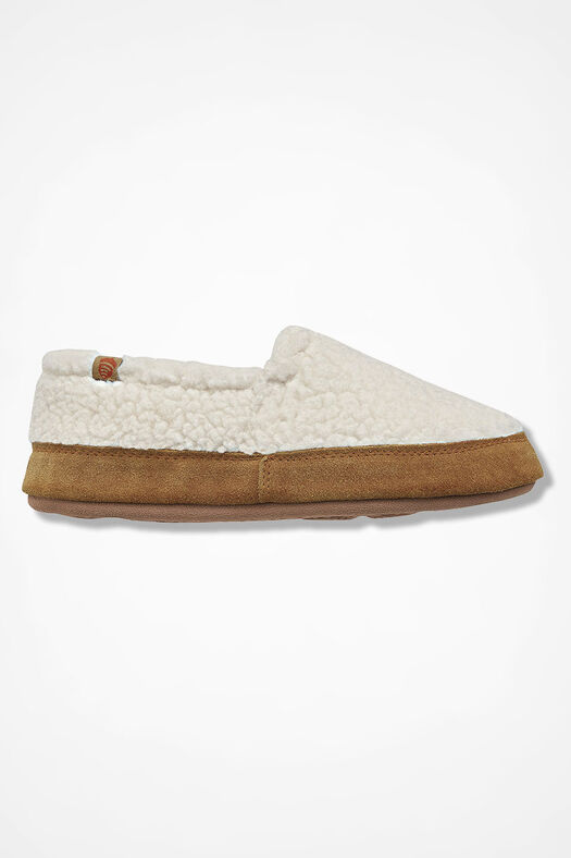 """Acorn Moc"" Slippers by Acorn®, Ivory, large"