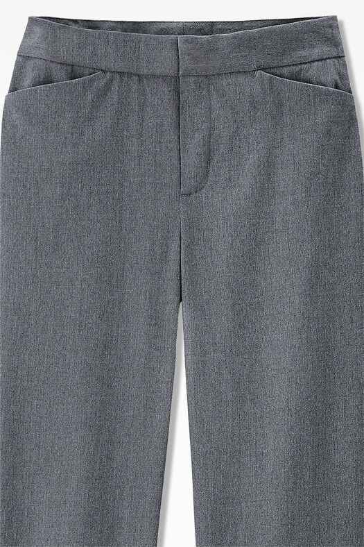 The Stretch Flannel Gallery Pant, Light Heather Grey, large