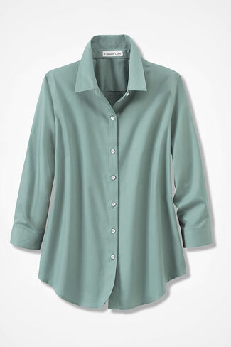 Misses Wrinkle Free Shirts Blouses Coldwater Creek