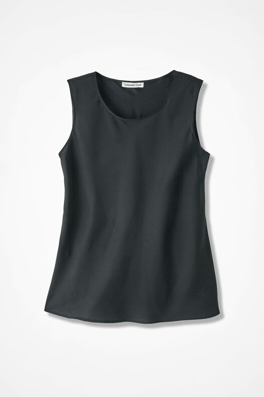 Do-It- All Sleeveless Shell, Black, large