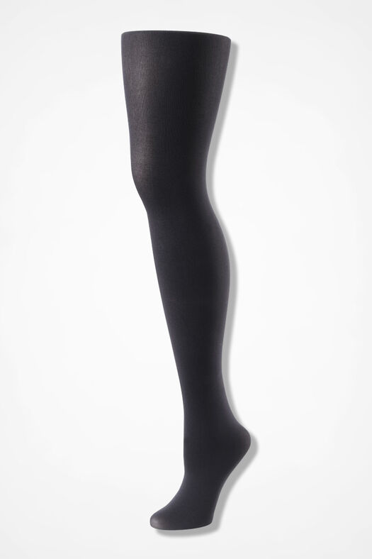 Coldwater Creek® Opaque Tights, Grey, large