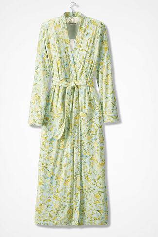 Prairie Blooms Knit Robe, Multi, large