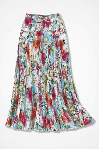 Sunshine Floral Crinkle Skirt, Multi, large