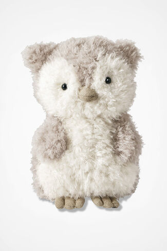 """Little Owl"" by Jellycat®, Taupe, large"