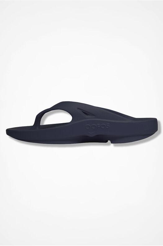 OOFOS® Original Thongs, Navy, large