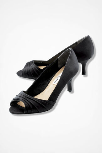 """Carolyn"" Pumps by Nina®, Black, large"