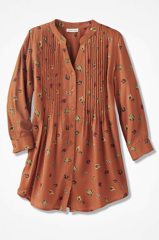 Leaf-Swept Tunic, Light Spice Multi, large