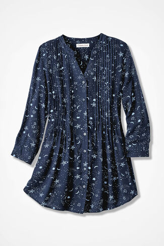 Stargazer Tunic, Navy, large