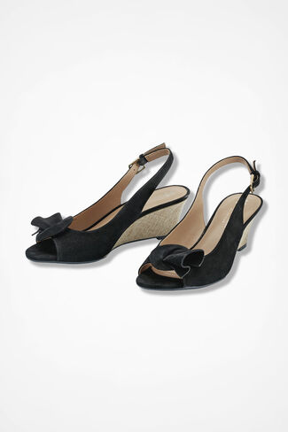 """Tinna"" Wedges by Naturalizer®, Black, large"
