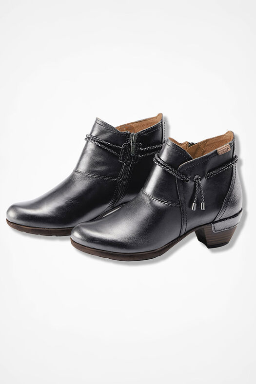 """""""Rotterdam"""" Leather Boots by Pikolinos®, Black, large"""