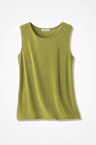 Destinations Solid Tank, Avocado, large