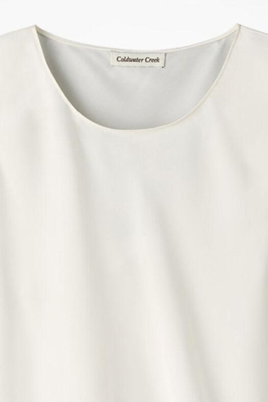 Do-It- All Sleeveless Shell, Ivory, large