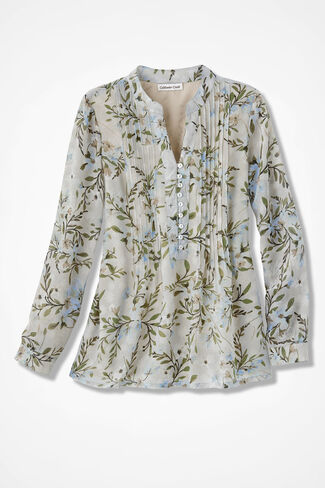 Halcyon Days Blouse, Soft Taupe, large