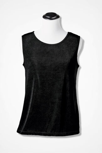 Destinations Solid Tank, Black, large