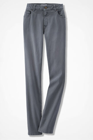 NEW The Creek® Slim-Leg Jeans, Pewter, large