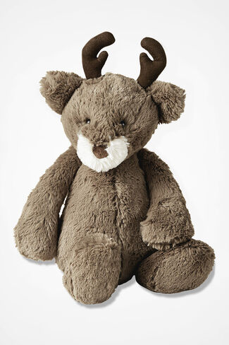 """""""Bashful"""" Reindeer by Jellycat®, Brown, large"""