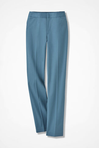 The CottonLuxe® Gallery Pant, Lagoon, large