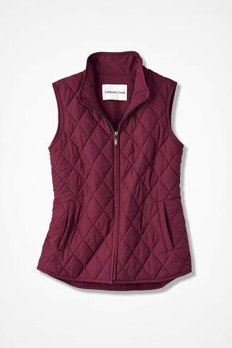 Vest for All Seasons, Garnet, large