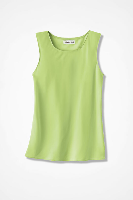 Do-It- All Sleeveless Shell, Light Willow, large