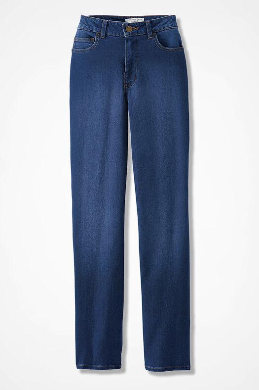The Creek® ShapeMe® Relaxed Straight-Leg Jean, Medium Wash, large